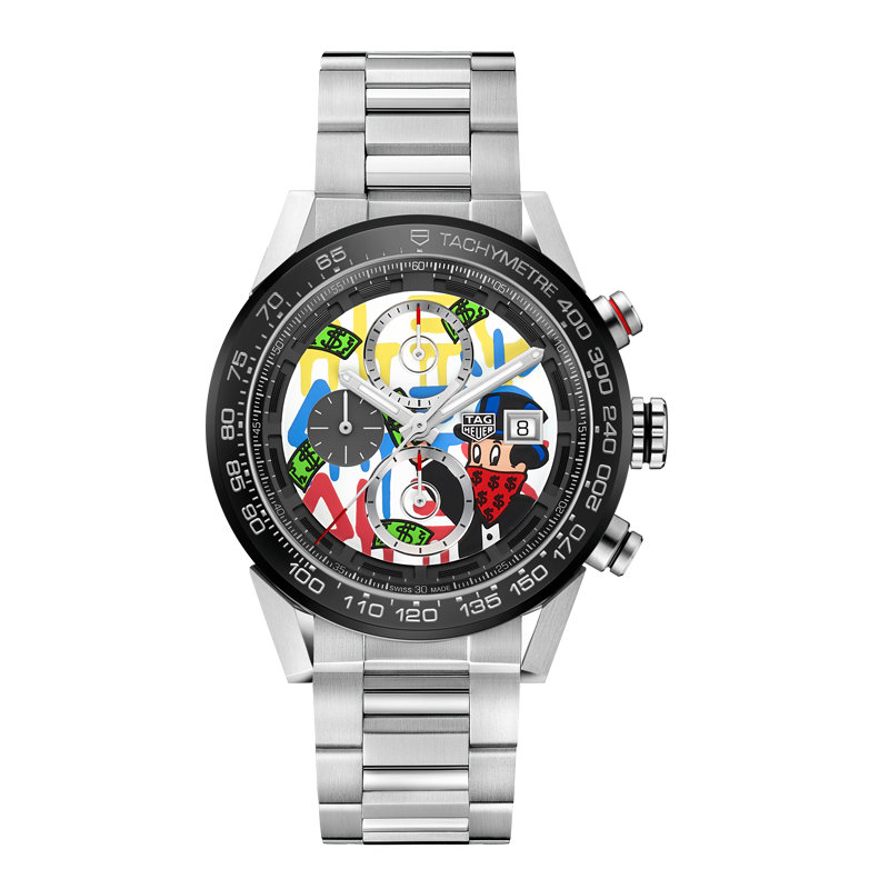Tag Heuer Carrera Alec Monopoly limited