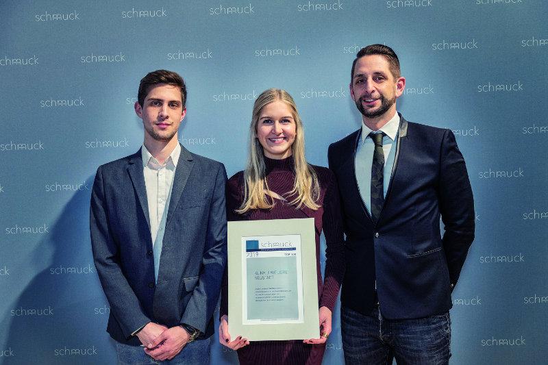 Auszeichnung auf der Inhorgenta in München