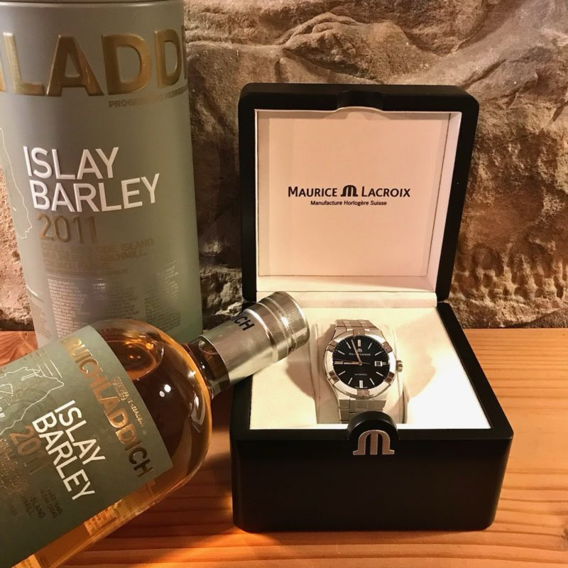 MAURICE LACROIX  meets  Bruichladdich Islay Barley WHISKY